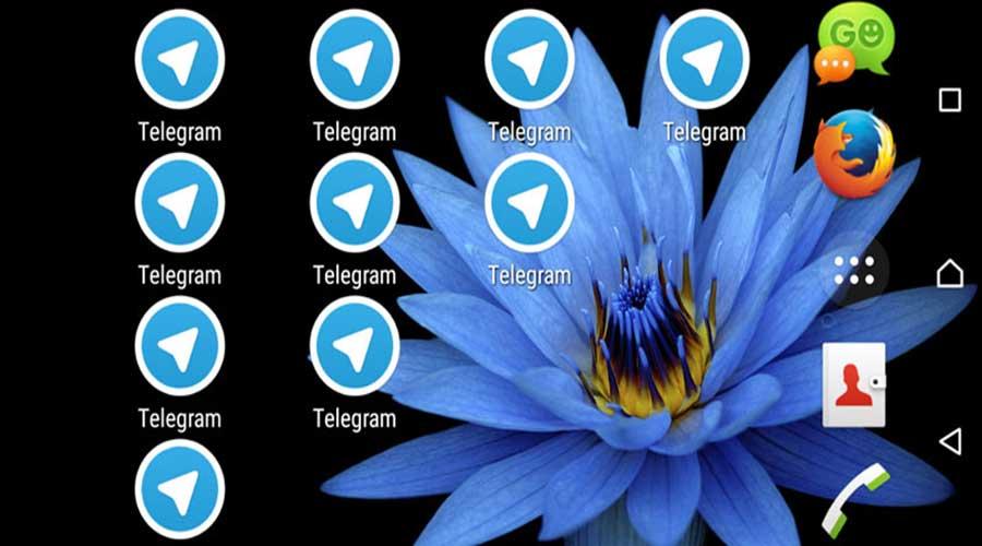 روش نصب چند حساب مختلف تلگرام